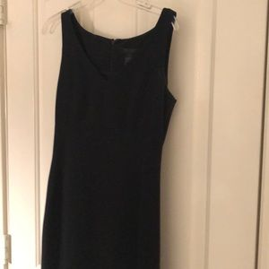 Black straight dress limited size 4
